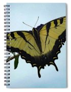 Wings Are Perfect Match - Eastern Tiger Swallowtail Spiral Notebook