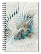 Wings Of An Angel Spiral Notebook