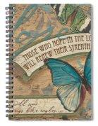 Wings Of Hope Spiral Notebook