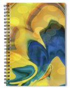 Wings Of The Dove Spiral Notebook