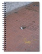 Eye On The Floor Spiral Notebook
