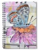 Wings V Spiral Notebook