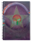 Wings Vermillion   Spiral Notebook