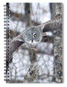 Wings Wide Open Spiral Notebook