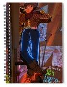 Winking Cowboy Spiral Notebook