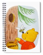 Winnie The Pooh And His Lunch Spiral Notebook