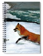 Winslow Homer's, 1893 ' The Fox Hunt ', Revisited 2016 Spiral Notebook