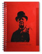Winston Churchill - A Joke Is A Very Serious Thing Spiral Notebook