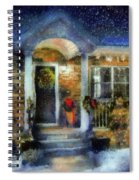 Winter - Christmas - Dressed Up For The Holidays  Spiral Notebook