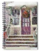 Winter - Christmas - Silent Day  Spiral Notebook