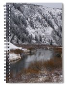 Winter Along The Salt Spiral Notebook