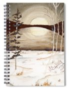 Winter Apex Spiral Notebook