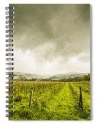 Winter Apple Orchard Spiral Notebook