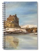 Winter At Eilean Donan Spiral Notebook
