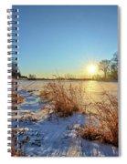 Winter At Mayne's Spiral Notebook