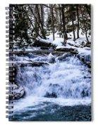 Mill Creek Falls Wv Spiral Notebook