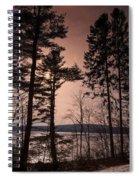 Winter At Nepaug Spiral Notebook