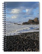 Winter At Sandymouth Spiral Notebook