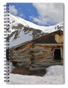 Winter At The Boston Mine 2 Spiral Notebook