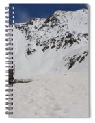 Winter At The Boston Mine 3 Spiral Notebook