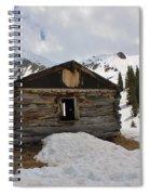 Winter At The Boston Mine 4 Spiral Notebook