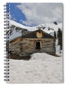 Winter At The Boston Mine Spiral Notebook