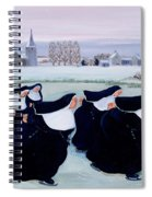 Winter At The Convent Spiral Notebook