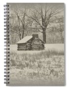Winter At Valley Forge Spiral Notebook