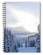 Winter Atmosphere Spiral Notebook