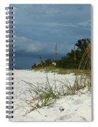 Winter Beauty At The Beachside Spiral Notebook