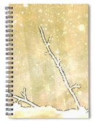 Winter Born Spiral Notebook