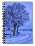 Winter Chill Spiral Notebook