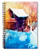 Winter Color Spiral Notebook