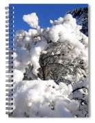 Winter Cotton Spiral Notebook