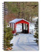 Winter Crossing Spiral Notebook