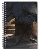 Winter Day Spiral Notebook