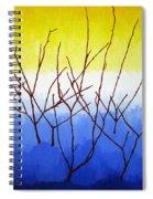 Winter Dogwood Spiral Notebook