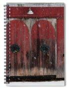 Winter Doors Spiral Notebook