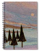 Winter Dream Spiral Notebook