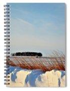 Winter Dunes Spiral Notebook
