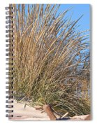 Winter Dunes Spiral Notebook