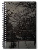 Winter Dusk Spiral Notebook