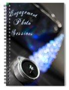 Winter Engagement Spiral Notebook
