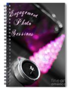 Winter Engagement V2 Spiral Notebook