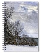 Winter Farm Spiral Notebook