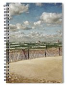 Winter Fences In Grand Haven 2.0 Spiral Notebook