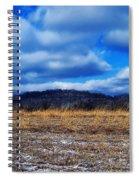 Winter Field Spiral Notebook