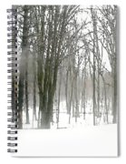 Winter Fog Spiral Notebook