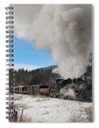 Winter Freight Special Spiral Notebook