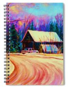Winter Getaway Spiral Notebook